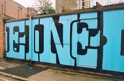 Eine graffiti