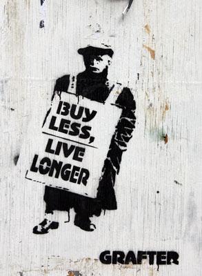 Grafter Buy Less Live Longer