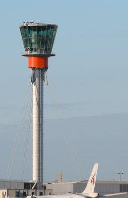 New Heathrow control tower