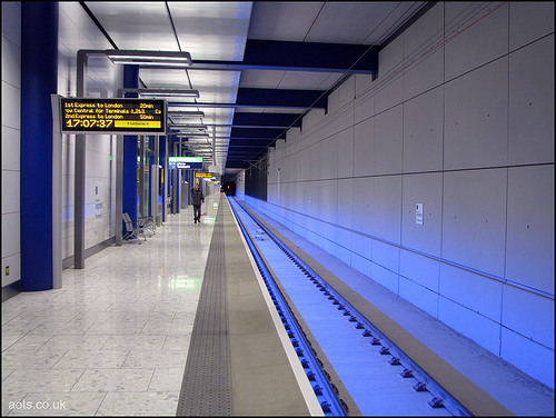 Heathrow Terminal 5 station