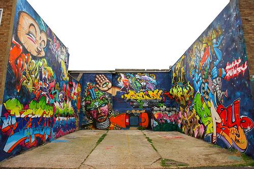 Heavy Artillery Graffiti