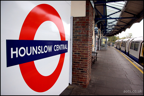 Hounslow Central Underground Station