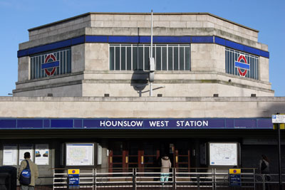 Hounslow West Art Deco Tube Station