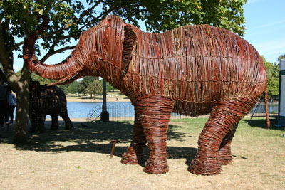 Hyde Park Willow Elephants