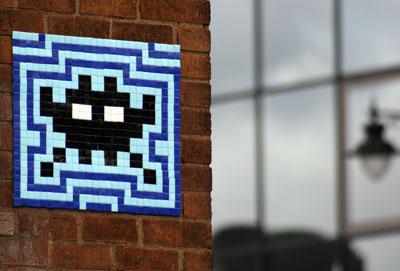 Space Invader 2007 invasion