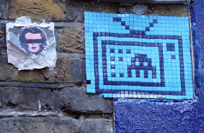 Space Invader and Asbestos