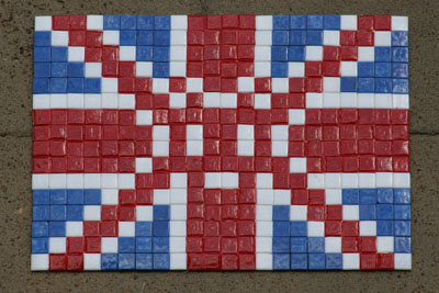 Space Invader, Union Jack