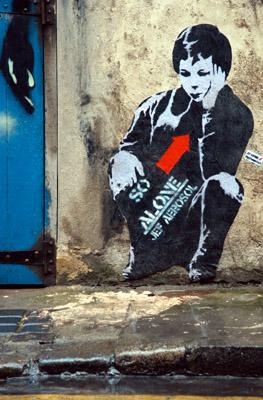 Jef aerosol graffiti
