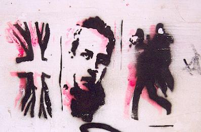 Joe Strummer, The Clash Stencil , Brighton