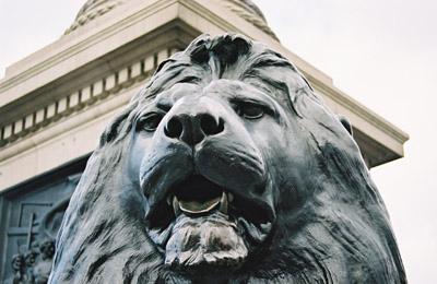 Landseer Lion, Trafalgar Square