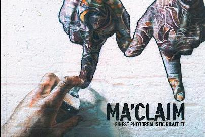 Ma'claim Finest Photorealistic Graffiti Book