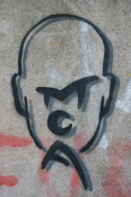 March Of Anger stencil