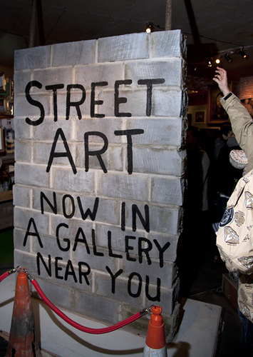 Street Art Now In A Gallery Near You