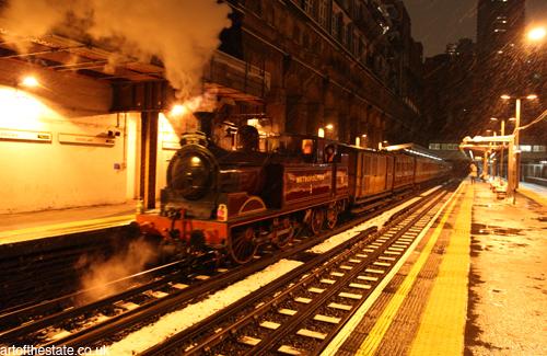 London Underground Pioneer 150th Anniversary Train