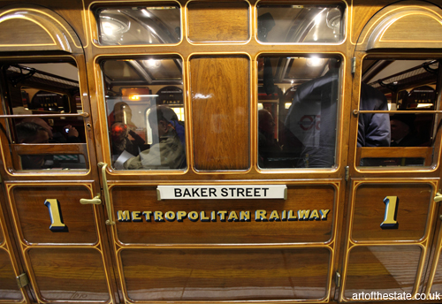 Metropolitan Railway Heritage Carriage