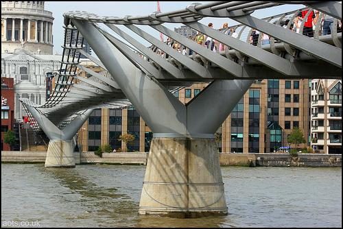 Millennium Bridge, london