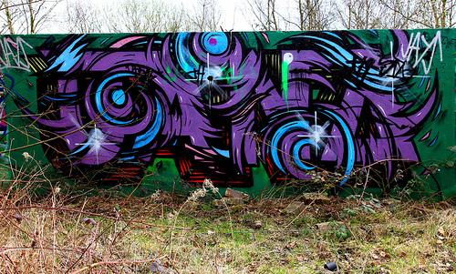 Jano _ feltham circles graffiti