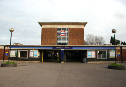 Northfields London Underground Tube Station