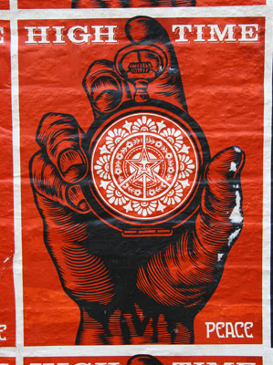 Shepard Fairey / Obey at Cargo