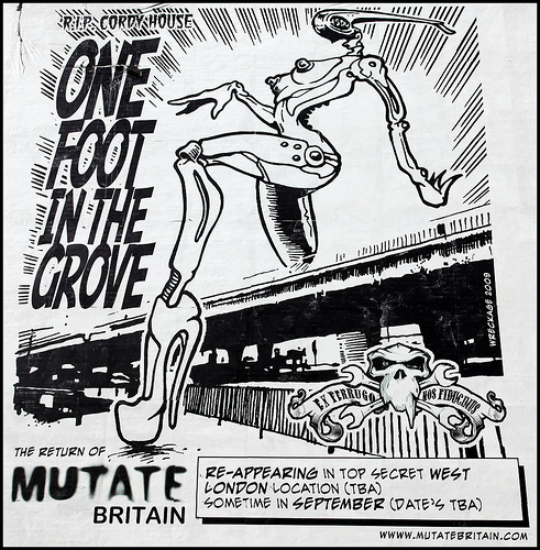 One Foot In The Grove poster
