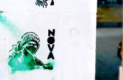 Nova stencil, South Bank
