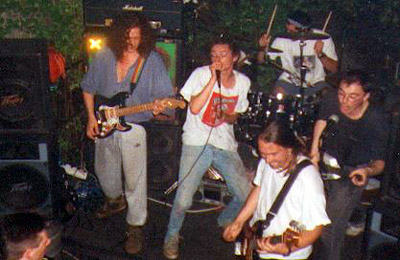 Herb garden _ the whole band!