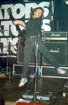 The Instigators UK punk band