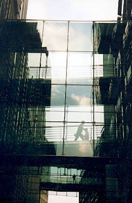 Glass walkways picture