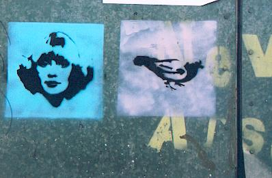 Stencil Graffiti in London