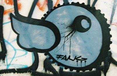 Falk graffiti