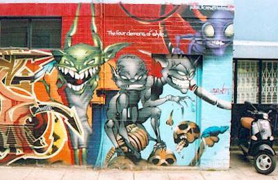 Ladbroke Grove graffiti