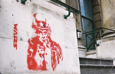 Uncle Sam Stencil
