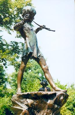 Peter Pan, Kensington Gardens