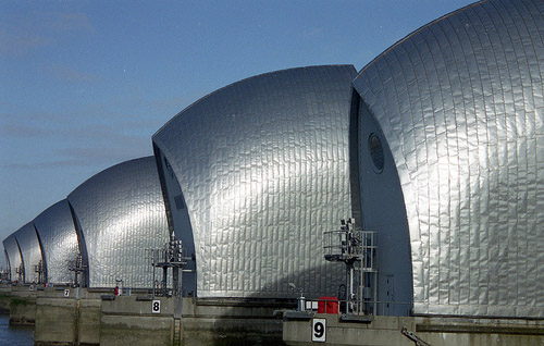 Thames Barrier Picture