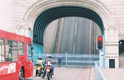 Tower Bridge open