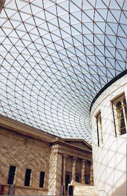 British Museum glass roof