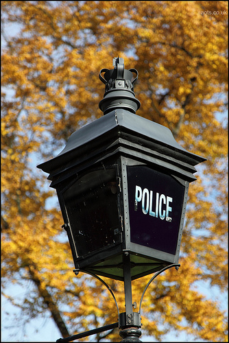 Police Lamp, Hyde Park