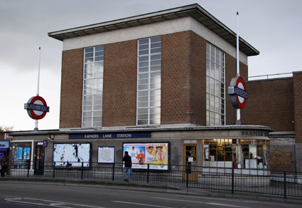 Rayners Lane  London Underground Tube Station