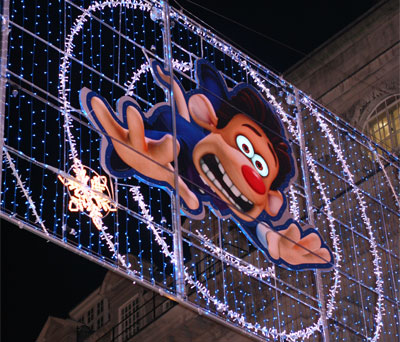 Flushed Away Regent Street Christmas Lights
