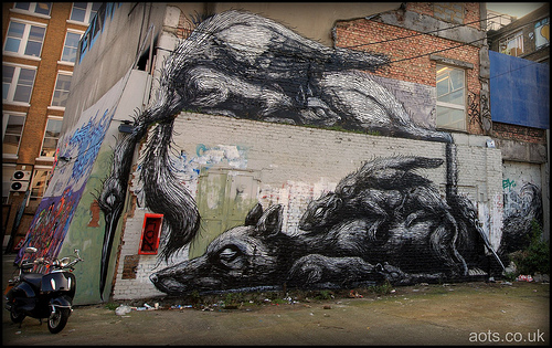 Roa on the Foundry