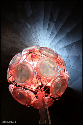 London Serpentine Gallery Pavilion 2007 Lighting