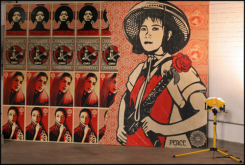 Shepard Fairey _ Peace