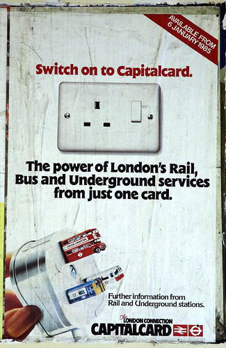 British Rail Poster _ Capitalcard