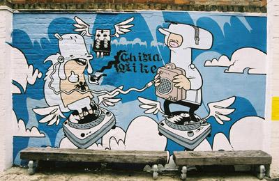 Graffiti mural, Cargo