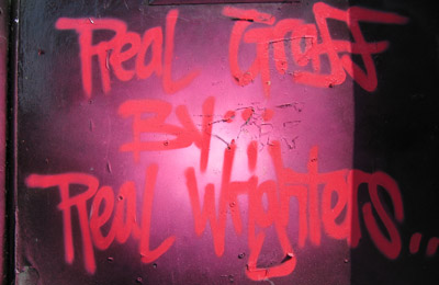 Real Graff By Real Wrighters