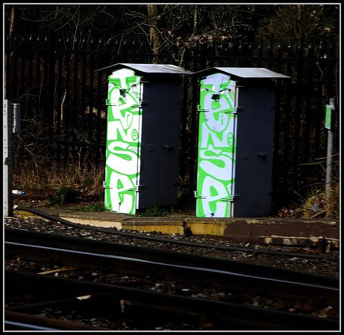 Tense graffiti