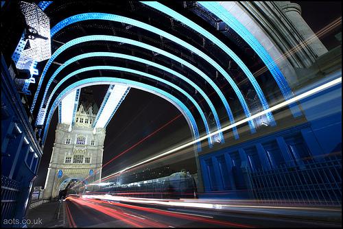 Tower Bridge Traffic Trails