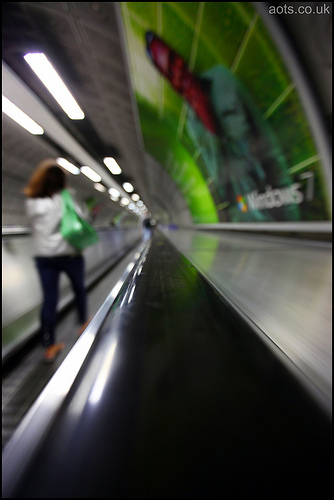 Waterloo Station Travelator