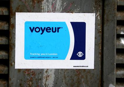 Xylo _ Voyeur Oyster Card sticker
