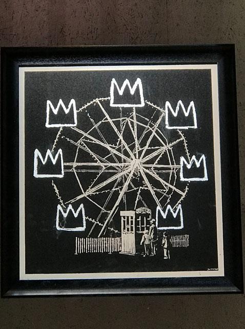 Banksy Banksquiat Print